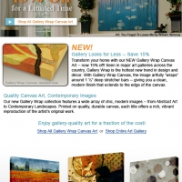 ArtSelect - Gallery Wrap
