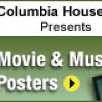 Columbia House - Movie/Music Posters