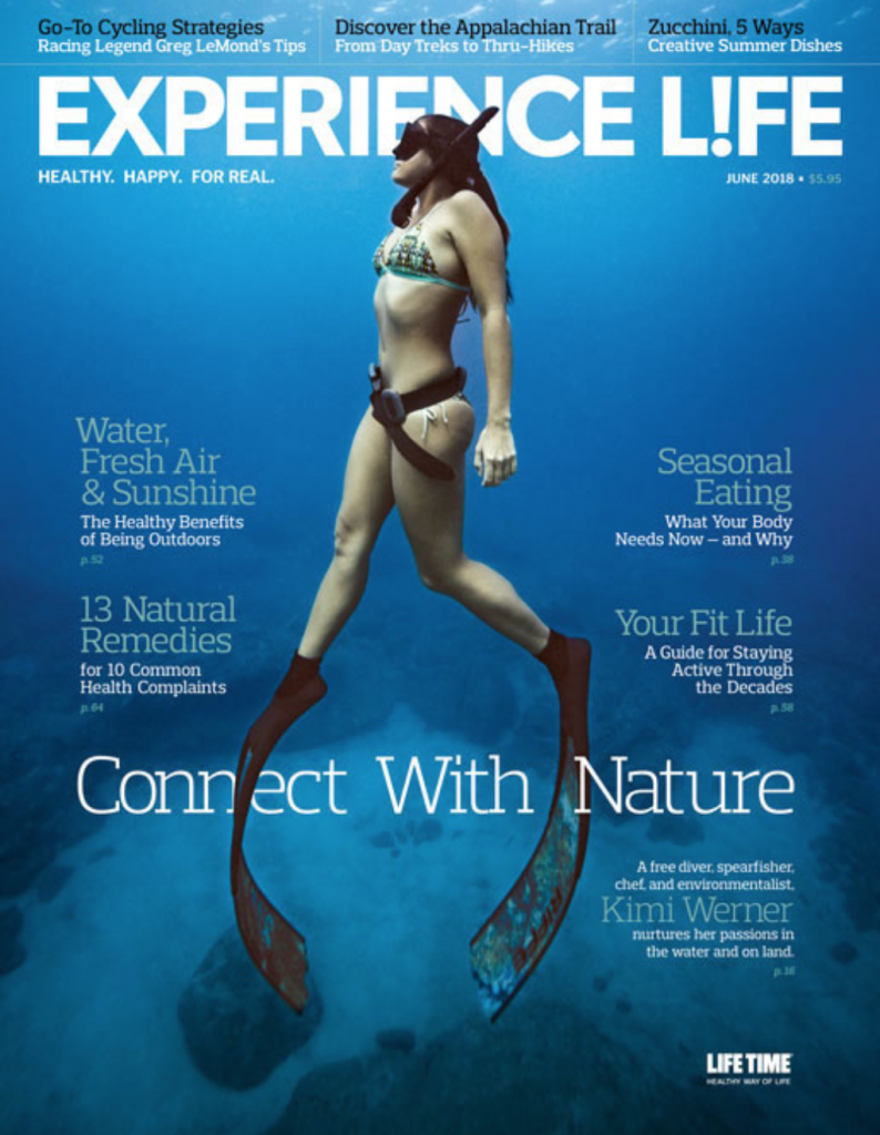 Experience Life magazine cover, June 2018